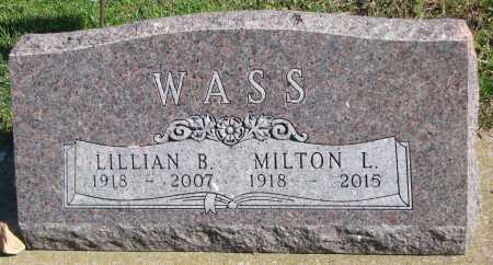 BONDHUS WASS, LILLIAN MARJORIE - Union County, South Dakota | LILLIAN MARJORIE BONDHUS WASS - South Dakota Gravestone Photos