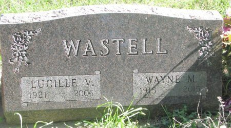WASTELL, LUCILLE VIOLET - Union County, South Dakota | LUCILLE VIOLET WASTELL - South Dakota Gravestone Photos