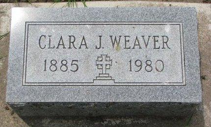 WEAVER, CLARA J. - Union County, South Dakota | CLARA J. WEAVER - South Dakota Gravestone Photos