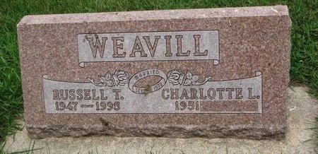 WEAVILL, CHARLOTTE L. - Union County, South Dakota   CHARLOTTE L. WEAVILL - South Dakota Gravestone Photos