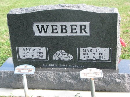 "MEEKER WEBER, VIOLA M. ""VI"" - Union County, South Dakota   VIOLA M. ""VI"" MEEKER WEBER - South Dakota Gravestone Photos"