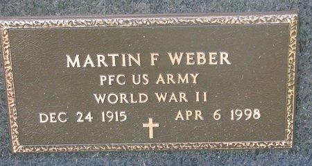 WEBER, MARTIN F. (WORLD WAR II) - Union County, South Dakota   MARTIN F. (WORLD WAR II) WEBER - South Dakota Gravestone Photos