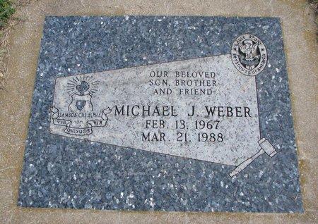 WEBER, MICHAEL J. - Union County, South Dakota | MICHAEL J. WEBER - South Dakota Gravestone Photos