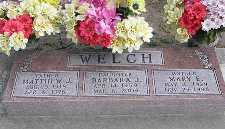 WELCH, MATTHEW J. - Union County, South Dakota | MATTHEW J. WELCH - South Dakota Gravestone Photos
