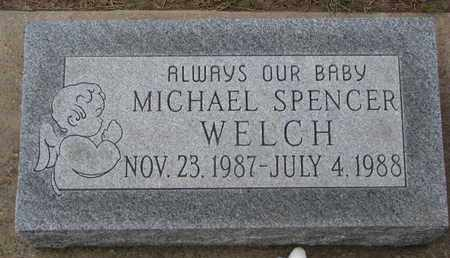 WELCH, MICHAEL SPENCER - Union County, South Dakota | MICHAEL SPENCER WELCH - South Dakota Gravestone Photos