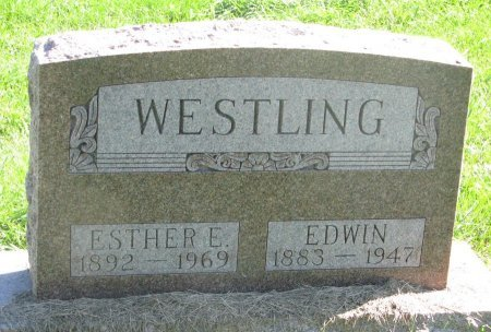 WESTLING, EDWIN - Union County, South Dakota | EDWIN WESTLING - South Dakota Gravestone Photos