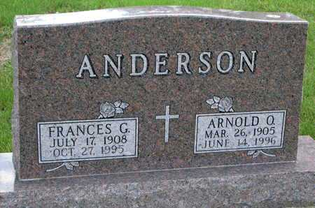 ANDERSON, ARNOLD O. - Union County, South Dakota | ARNOLD O. ANDERSON - South Dakota Gravestone Photos