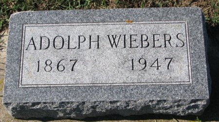 WIEBERS, ADOLPH - Union County, South Dakota   ADOLPH WIEBERS - South Dakota Gravestone Photos