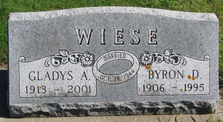WIESE, BYRON D. - Union County, South Dakota | BYRON D. WIESE - South Dakota Gravestone Photos