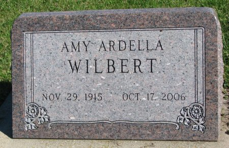 WILBERT, AMY ARDELLA - Union County, South Dakota   AMY ARDELLA WILBERT - South Dakota Gravestone Photos