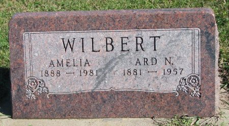 WILBERT, AMELIA - Union County, South Dakota | AMELIA WILBERT - South Dakota Gravestone Photos