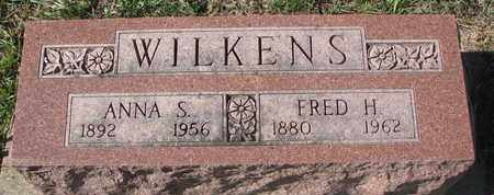 WILKENS, FRED H. - Union County, South Dakota | FRED H. WILKENS - South Dakota Gravestone Photos