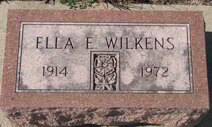WILKENS, ELLA E. - Union County, South Dakota | ELLA E. WILKENS - South Dakota Gravestone Photos
