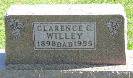 WILLEY, CLARENCE C. - Union County, South Dakota | CLARENCE C. WILLEY - South Dakota Gravestone Photos