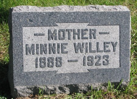 NANNINGA WILLEY, MINNIE - Union County, South Dakota   MINNIE NANNINGA WILLEY - South Dakota Gravestone Photos