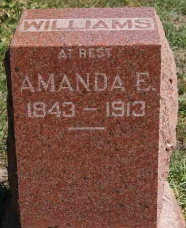 MICKEL WILLIAMS, AMANDA E. - Union County, South Dakota   AMANDA E. MICKEL WILLIAMS - South Dakota Gravestone Photos