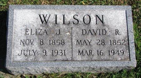 WILSON, ELIZA J. - Union County, South Dakota | ELIZA J. WILSON - South Dakota Gravestone Photos