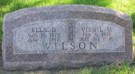 WILSON, ELLA LAURIE - Union County, South Dakota | ELLA LAURIE WILSON - South Dakota Gravestone Photos