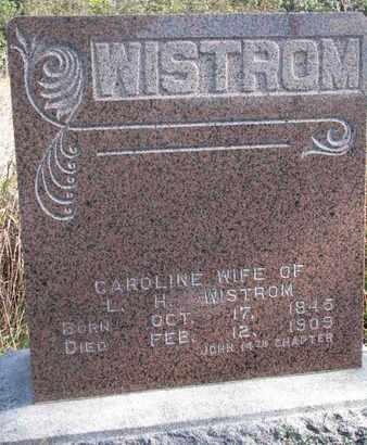 WISTROM, CAROLINE - Union County, South Dakota | CAROLINE WISTROM - South Dakota Gravestone Photos