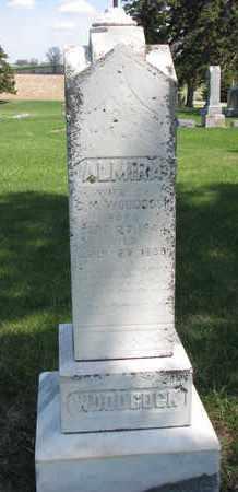 WOODCOCK, ALMIRA - Union County, South Dakota   ALMIRA WOODCOCK - South Dakota Gravestone Photos