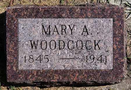 WOODCOCK, MARY A - Union County, South Dakota | MARY A WOODCOCK - South Dakota Gravestone Photos
