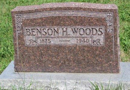 WOODS, BENSON H. - Union County, South Dakota | BENSON H. WOODS - South Dakota Gravestone Photos