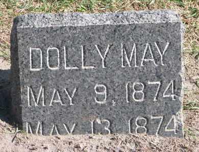 WOODS, DOLLY MAY - Union County, South Dakota | DOLLY MAY WOODS - South Dakota Gravestone Photos