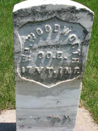 WOODWORTH, WM. - Union County, South Dakota | WM. WOODWORTH - South Dakota Gravestone Photos