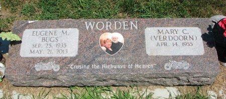 """WORDEN, EUGENE M. """"BUGS"""" (KOREA) - Union County, South Dakota   EUGENE M. """"BUGS"""" (KOREA) WORDEN - South Dakota Gravestone Photos"""