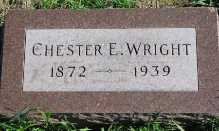 WRIGHT, CHESTER E. - Union County, South Dakota | CHESTER E. WRIGHT - South Dakota Gravestone Photos