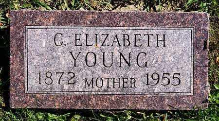 YOUNG, C ELIZABETH - Union County, South Dakota | C ELIZABETH YOUNG - South Dakota Gravestone Photos