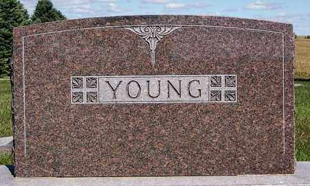 YOUNG, *FAMILY MARKER - Union County, South Dakota | *FAMILY MARKER YOUNG - South Dakota Gravestone Photos