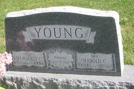 YOUNG, HAROLD C. - Union County, South Dakota | HAROLD C. YOUNG - South Dakota Gravestone Photos