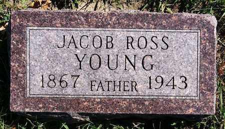 YOUNG, JACOB ROSS - Union County, South Dakota   JACOB ROSS YOUNG - South Dakota Gravestone Photos