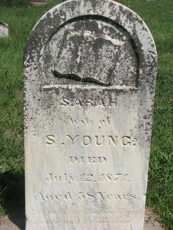 YOUNG, SARAH - Union County, South Dakota | SARAH YOUNG - South Dakota Gravestone Photos