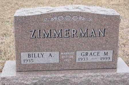 ZIMMERMAN, GRACE M. - Union County, South Dakota | GRACE M. ZIMMERMAN - South Dakota Gravestone Photos