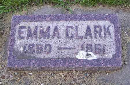 CLARK, EMMA - Walworth County, South Dakota   EMMA CLARK - South Dakota Gravestone Photos