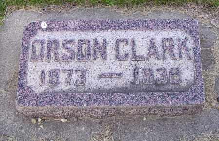 CLARK, ORSON - Walworth County, South Dakota | ORSON CLARK - South Dakota Gravestone Photos