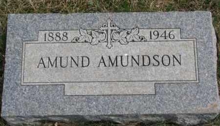 AMUNDSON, AMUND - Yankton County, South Dakota | AMUND AMUNDSON - South Dakota Gravestone Photos
