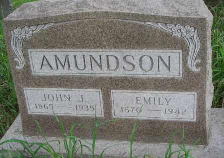 AMUNDSON, JOHN J. - Yankton County, South Dakota | JOHN J. AMUNDSON - South Dakota Gravestone Photos