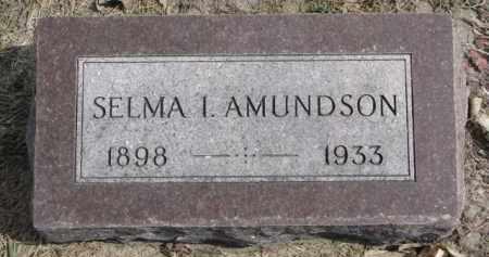 AMUNDSON, SELMA I. - Yankton County, South Dakota | SELMA I. AMUNDSON - South Dakota Gravestone Photos