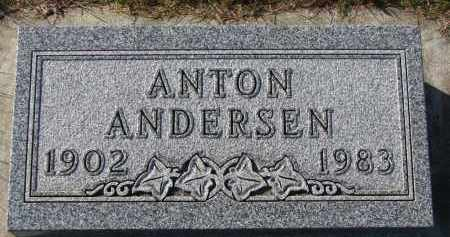 ANDERSEN, ANTON - Yankton County, South Dakota   ANTON ANDERSEN - South Dakota Gravestone Photos