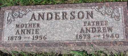ANDERSON, ANNIE - Yankton County, South Dakota   ANNIE ANDERSON - South Dakota Gravestone Photos