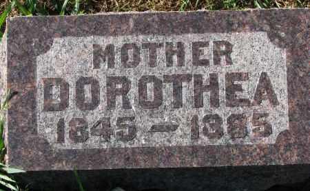 ANDRE, DOROTHEA - Yankton County, South Dakota | DOROTHEA ANDRE - South Dakota Gravestone Photos