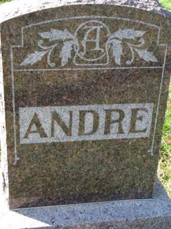 ANDRE, FAMILY STONE - Yankton County, South Dakota | FAMILY STONE ANDRE - South Dakota Gravestone Photos