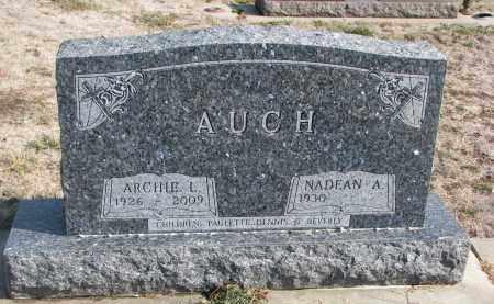 AUCH, NADEAN A. - Yankton County, South Dakota | NADEAN A. AUCH - South Dakota Gravestone Photos