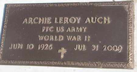 AUCH, ARCHIE LEROY (WW II) - Yankton County, South Dakota | ARCHIE LEROY (WW II) AUCH - South Dakota Gravestone Photos