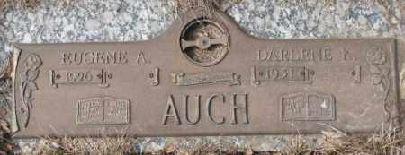 AUCH, EUGENE A. - Yankton County, South Dakota | EUGENE A. AUCH - South Dakota Gravestone Photos
