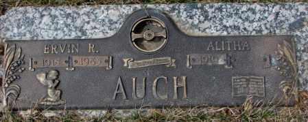 AUCH, ERVIN R. - Yankton County, South Dakota   ERVIN R. AUCH - South Dakota Gravestone Photos