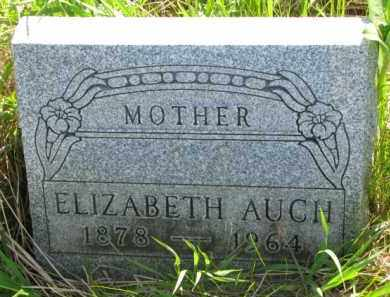 AUCH, ELIZABETH - Yankton County, South Dakota | ELIZABETH AUCH - South Dakota Gravestone Photos